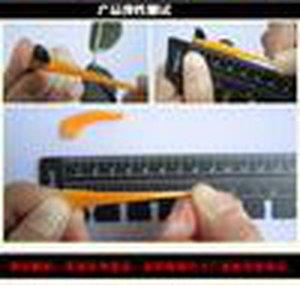 Atacado -1 Par Silicone Óculos Ear Hooks Óculos Slip Grip Anti Temple Titular Shoe vidros coloridos