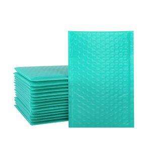 Blaue Poly-Bubble-Mailer Self-Siegel Gepolsterte Umschläge 13 * 18 cm Blase gefütterte Wrap-Versandverpackung Geschenk-Taschen JK2102XB