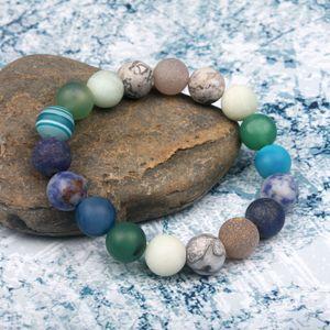 Universe Premium Space Planets Mercury bracelet 10mm Natural Stone Beads Bracelet Chakra Yoga Bracelet Dropship jewelry wholesal