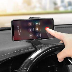 No Magnetic Car Phone Holder Hud Mount Smartphone Universal Car Holder Stand For Iphone Gps Dock Mobile Phone Support jllbva