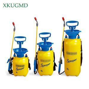3 5 8L Pressure Sprayer Compressed Air Spray Garden Sprayer Pump Hand Pressure Watering Spray Garden Irrigation Car Clean
