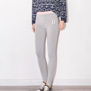 Aosheng mulheres algodão legging gato legging mola gatinho patchwork cintura alta espessura tamanho grande legging calzas mujer leggins lj201104