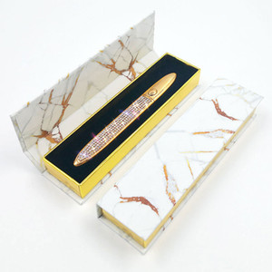 Pena de delineador auto-adesivo Cola para cílios falsos À Prova D 'Água Liner Liner com caixa de varejo 11 cores disponíveis