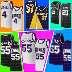 Jason Chris Williams Webber Patrick 33 Ewing SacramentoReNew YorkKnicks.Jersey Reggie Tim Miller Duncan Basket