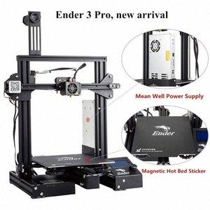 3D Ender-3 Pro Drucker 3D verbesserte Magnetische Bauen Platte Lebenslauf Stromausfall Druck DIY KIT Mean Well Netzteil DmN0 #