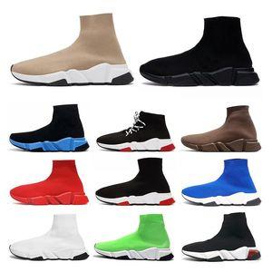 2021 Desinger Socke Sport schuhe Damen Herren flache Freizeitschuhe Graffiti Socken Stiefel Luxus Plattform Designer Sneakers