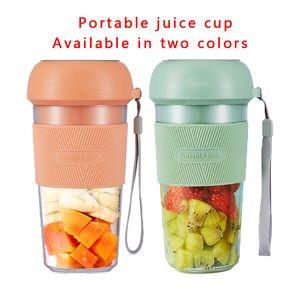 300 ml Juicer de frutas eléctricas portátiles USB Estudiante de carga Bao Mamá Home Travel Essential Mini Máquina de cocina Jugo Juicing Cup Regalo rojo