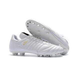 2019 جديد وصول الرجال لكرة القدم المرابط كأس مونديال FG أحذية كرة القدم كأس العالم لكرة القدم أحذية جلدية التاكو دي فوتبول الأصل