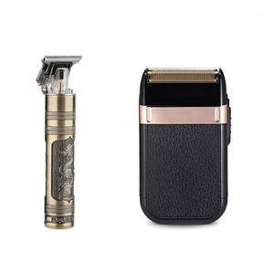 USB Clipper Парикмахерская Триммер для Мужчин Борода Электрическая бритва Машина Машина Короткие Clipprcut Professional Haircut Home Esential1