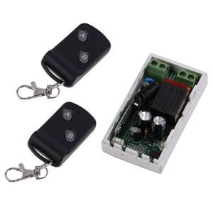 315MHz sem fio AC220V 1CH 2 Botões Transmissor Receptor 2 de Controle Controladores Chave módulo remoto RF Transceptor