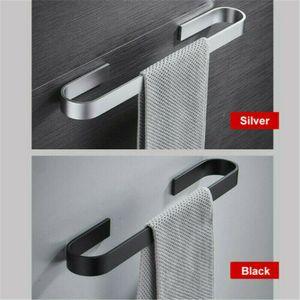 45cm Bathroom Toilet Hand Towel Rail Rack Holder Stainless Steel Wall Mounted
