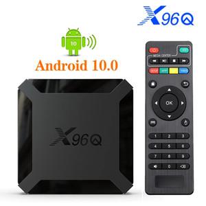 X96Q Android 10 Allwinner H313 Quad Core smart tv 4K Smart tv box Set Top Box Media Player PK x96 mini t95