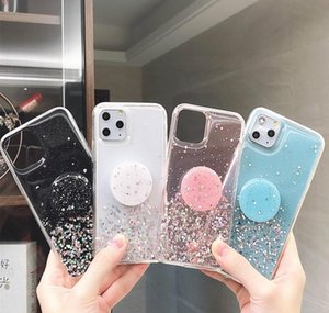 Soft Phone Case Glitter 3d Bling For Iphone 12 Mini 11 Pro Max Xr X Xs 6s 7 jllysK dh_niceshop