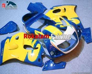 Для Suzuki Aftermarket 1998 1998 1999 GSXR 600 GSX R600 SRAD GSXR750 GSXR600 GSX-R600 2000 1996 1997 1997 1996-2000 Огравка на мотоцикле 96-00 обтекатель