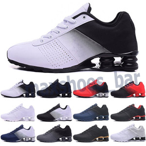 2021 New Deliver 809 TN Cushion Running Shoes Triple Black White Women Sports Trainers Men Breathable Outdoor Athletic Sneakers 36-46 M21