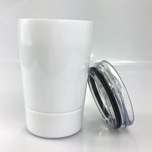 DIY 승화 8oz 키즈 텀블러 304 스테인레스 스틸 텀블러 아이 물병 어린이 컵 와인 잔 바다 선박 DHE2630