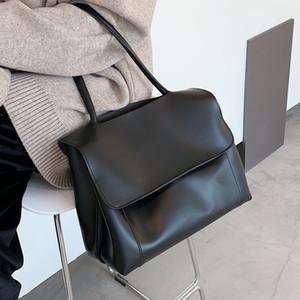 Большая емкость Кожа PU сумка сумки для женщин 2020 Склонен Фирменная большое плечо сумки Женские кошельки Crossbody C1019