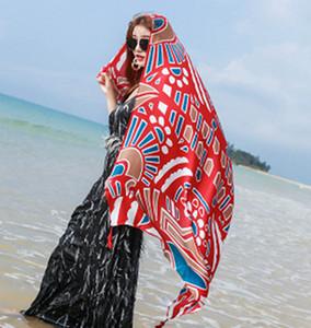 36style étnico bufanda mantón de las mujeres de lino de algodón Toalla étnico Mar Alquiler de vacaciones Protector solar bufanda de seda de la toalla de playa de Bohemia 180 * 100cm GGA3758