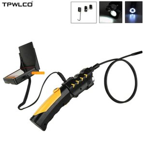 1M 3M 5M 8.5mm 4.3 inch with 6pcs LED Light Adjustable Pipe Snake Borescope Tube Inspection