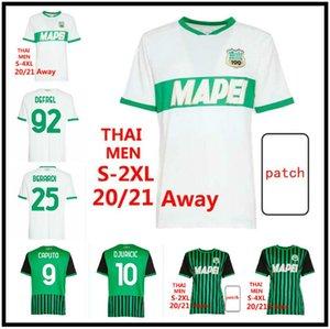 20 21 Sassuolo Soccer-Trikots 100. Hundertjähriger Locatelli Berardi Boga 2020 2021 Maglietta Calcio TRAORE 2020 2021 Fußballhemden S-4XL