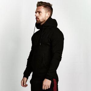 2021 masculino design esportes top half-zip hoodie europeu e americano homens executando esportes casuais músculos loucos pulôver