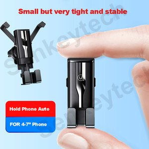 Universal Mini Air Vent Mount Clip Stand Gravity Bracket Phone Holder for iPhone Xiaomi Huawei Samsung