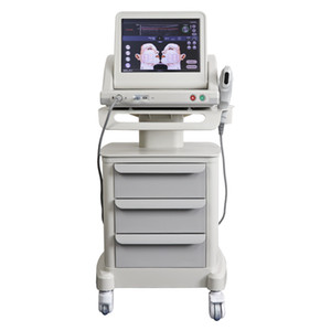 Hifu Face Lift Machine 5 Cartridges 10000 shot each body slimming Wrinkle Removal Neck Skin Tighten 4MHz 7MHz Ultrasound Therapy Facelift