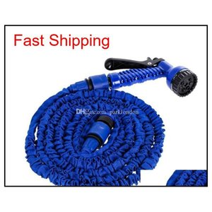 Expandable Garden Hose Flexible Garden Water Hose 50ft For Car Hose Pipe Watering Irrigation With Spray Gun 1 qylXDM dh_seller2010