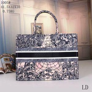 2020 de couro de alta qualidade superior mulheres grandes saco de compras zíper bolsa de zíper geometria padrão animal telas bordados costurando portátil portátil