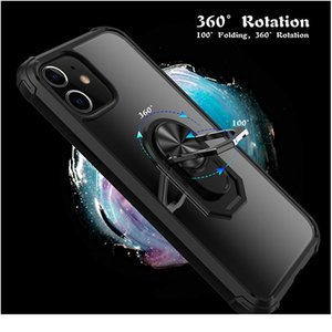 Luxury Shockproof Case For Iphone 12 11 Pro Max 12 Mini X Xr Car Bracket Case For Iphone wmtlXb