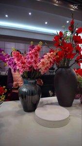Flower Arrangement Materiale Nordico Styel Fiore Artificiale Casa Decorazione di nozze Atterraggio Decorativo Violet Flowers1