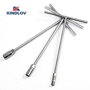 KINDLOV Wrench T Tipo Torquimetro Universal 8-19mm soquete chave inglesa ajustável chave hexagonal Ferramentas Tool Set Auto Professional mão
