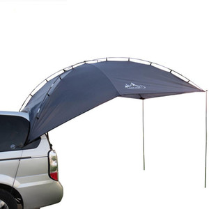Outdoor Self-driving Barbecue Camping Car Tail Side Tent Sunshade Tail Extension Tent Easy Install And Carry In Large Size