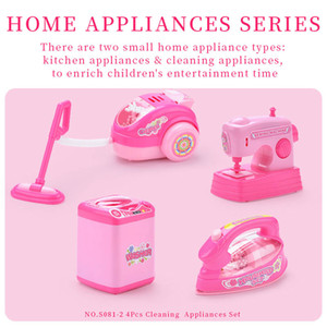 Home appliances Play house toys Housework series 4 in 1 kid toys 2020 hot sell gift of the child