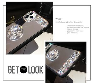 3D Acrylic Sunjolly Mirror Mirror Diamond Case для iPhone 11 Pro Max XS MAX XR 8/7 PLUS 6 / 6S PLUS PLUS SE2020 Чехлы для телефонов JLLCLG LoveShop01