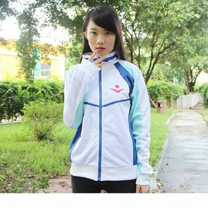 Japan Anime Free! Iwatobi Swim Club Nanase Haruka Jacket Cosplay High School Uniform Unisex Casual Sport Coat Jacket Costume
