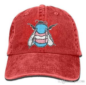 PZX @ Casquette de baseball pour hommes et femmes Transgenre Bee coton de coton de coton réglable de coton ajustable chapeau multi-couleur facultatif
