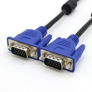 Lineshopping VGA Cable Male to Male 3+5 HD Fully Wired 15PIN for LCD CRT Projector PC Laptop Monitor