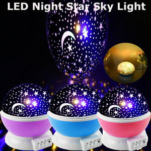 Sky Full of Stars and Moon Starry Sky LED Night Light Projector Disco Lights For Ceiling Car Roof Decoration