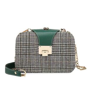 2020 새로운 스타일의 작은 빵 체인 패키지 어깨 가방 작은 가방 핸드백 크로스 바디 여자