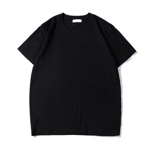 19s famosos mens camiseta polos alta qualidade camiseta homens mulheres casuais casuais de manga curta mens redonda desenhista t camisa 2 cores H05