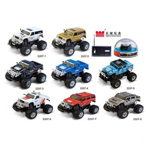 Great Wall 1:58 mini four way Hummer off road vehicle remote control car toy