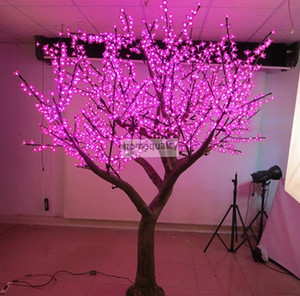 Belle fleur de cerisier à LED arbre de Noël éclairage P65 Lampe de décoration de paysage de jardin étanche pour la fête de mariage Christm