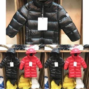 2CKR Jackets de algodón para abrigos Abrigos New Chaqueta Chicas para Chicas Down Chaqueta Niños Abrigo Niños Ropa Keaiyouhuo con capucha Ultra Light Down
