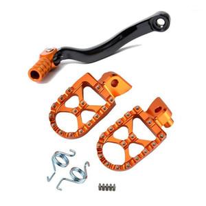 Footrest Dişli Kaydırma Pedal Kolu SXF 350 450 Için 505 EXCF SX-F 250 EXCF SX 125 150 200 Ayak Kazıklar Dinlenme Motosiklet Aksesuarları1