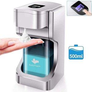 500ml Touchless automatico del sapone Schiuma erogatore automatico del sensore erogatore automatico del sapone liquido mano albergo lavaggio a casa la scuola EWE2310