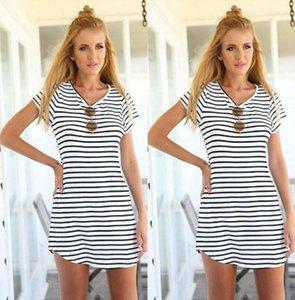New Women Summer Femme Striped Bodycon Dress Vestido De Festa Robe Elbise Jurken Slim Pencil Dresses Womens Clothing