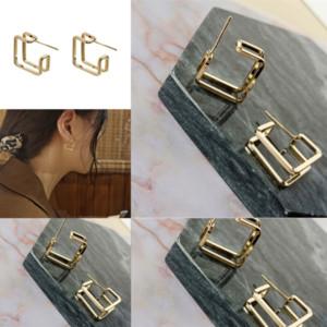 WIXP Marca Silver Messika Pendientes Oro con Zircon Famosa Sterling Fine Fashion Jewelry 18K ARRADA INLAIDA PARA MADRE