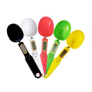 Electrónicos de uso doméstico cuchara dosificadora Escala balanza de cocina digital portátil pesada precisa Cuchara mayor el envío libre WB2879