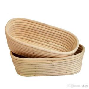 Не токсичные хлебные корзины багета Практические кухонные инструменты для выпечки тесто Banneton Brotform Vectoring Rattan Cassow New 31XH5 ZZ